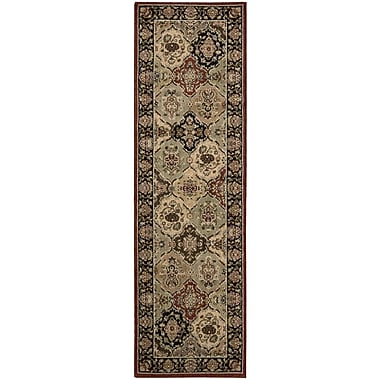 Kathy Ireland Home Gallery Lumiere Persian Tapestry Multicolor Area Rug; Runner 2'3'' x 7'9''