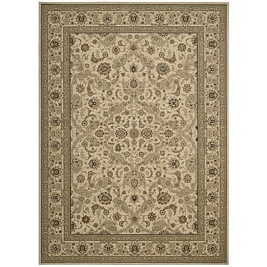 Kathy Ireland Home Gallery Lumiere Royal Countryside Beige Area Rug; 7'9'' x 10'10''