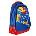 Forever Collectibles Core Structured Backpack; University of Kansas Jayhawks