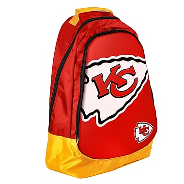 Forever Collectibles Core Structured Backpack; Kansas City Chiefs