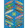 Fun Rugs Supreme Go Surfing Blue Area Rug;
