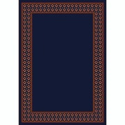 Milliken Design Center Onyx Foulard Area Rug; 7'8'' x 10'9''
