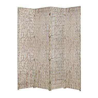 Screen Gems Sterling 84'' x 84'' 4 Panel Room Divider