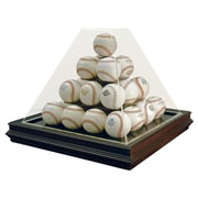 Caseworks International Pyramid Style 25 Ball Boardroom Display Case; Yes