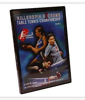 Killerspin 2003 Extreme Table Tennis Championships DVD Vol.1 WYF078276055481