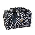 Jenni Chan Signature 17'' City Travel Duffel; Black and White