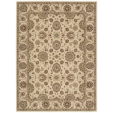 Nourison Persian Crown Ivory Area Rug; 3'9'' x 5'9''