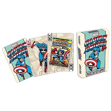 NMR Captain America Playing Cards