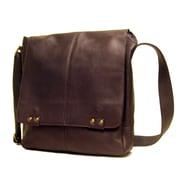 Le Donne Leather Messenger Bag; Caf
