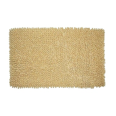 Jovi Home Loop Twist Bath Mat; Apricot