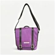 Clark & Mayfield Reed iPad Crossbody Bag; Purple