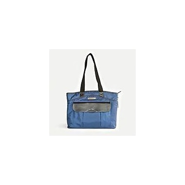 Clark & Mayfield Newport Laptop Tote Bag; Navy