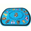 Kids World Baby Animals Blue Area Rug; Oval 8' x 10'