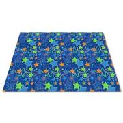 Kid Carpet Seating Stars Kids Rug; 6' x 12'