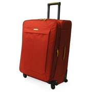 Lucas Groovy 29'' Expandable Spinner Suitcase; Red