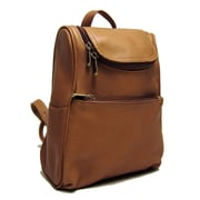 Le Donne Leather Women's Everyday Backpack; Tan
