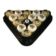 Wave 7 NCAA Pool Ball Set; Wake Forest