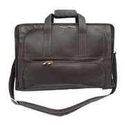 Piel Entrepreneur Half-Moon Portfolio Briefcase; Chocolate