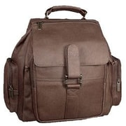 David King Top Handle Promotional Backpack; Caf  / Dark Brown