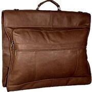David King 42'' Garment Bag; Caf  / Dark Brown