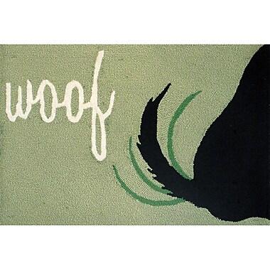 Liora Manne Frontporch Woof Area Rug; 1'8'' x 2'6''