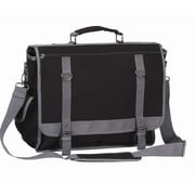 Preferred Nation Expresso Messenger Bag; Black