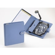 Periscope  Cover+Light Folio for Kindle Wi-Fi, Kindle Touch, and nook Simple Touch; Steel Blue