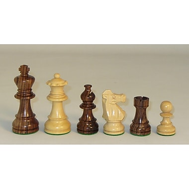 Checkmate Rosewood Lardy Chessmen