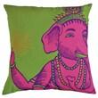 Koko Company Bazaar Pillow; Lime