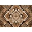 Bungalow Flooring Rustic Wood Real Decorative Mat; 23'' x 36''