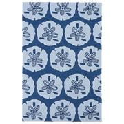 Kaleen Matira Hand-Tufted Blue Indoor/Outdoor Area Rug; 8'6'' x 11'6''