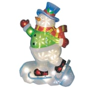 Brite Star LED Icy Snowman Lawn Silhouette Christmas Decoration
