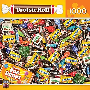 MasterPieces Candy Brands Tootsie Rolls 1000 Piece Jigsaw Puzzle