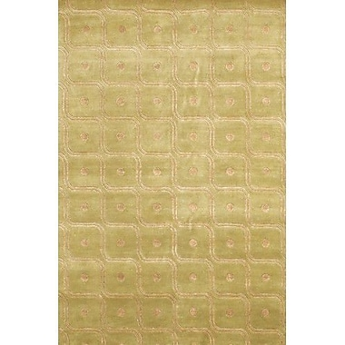 Chandra Aadi Gold/Yellow Area Rug; 2' x 3'