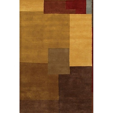 Chandra Dream Brown/Tan Area Rug; 5' x 7'6''