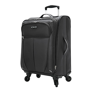 Skyway Mirage Superlight 20'' Expandable Carry-On Suitcase; Black
