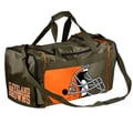 Forever Collectibles NFL 11'' Travel Duffel; Cleveland Browns