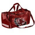 Forever Collectibles NCAA 11'' Travel Duffel; University of South Carolina Gamecocks