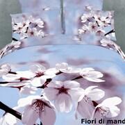 Dolce Mela Dolce Mela Fiori Di Mandorla 6 Piece Duvet Cover Set