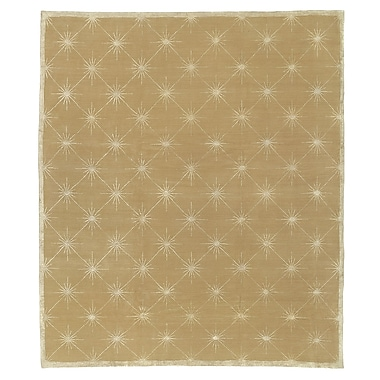 Artisan Carpets Designers' Reserve Brown/White Area Rug; 3' x 5'