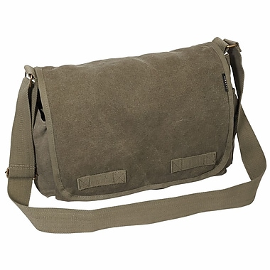 Everest Messenger Bag; Charcoal