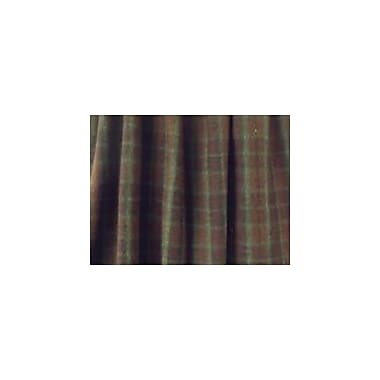 Wooded River Cabin Bear Gathered Bed Skirt; California King