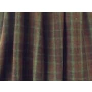 Wooded River Cabin Bear Gathered Bed Skirt; Queen