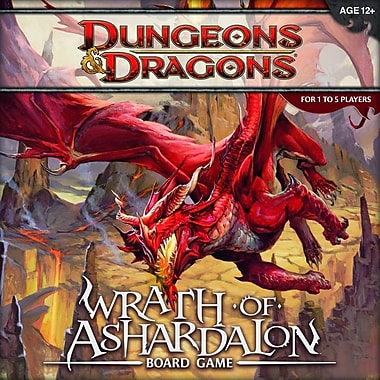 Wizards of the Coast Dungeons and Dragons: Wrath of Ashardalon Board Game