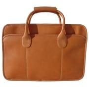Piel Simple Portfolio Briefcase; Saddle