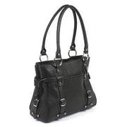 Claire Chase Valentina Tote Bag; Black
