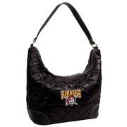 Little Earth MLB Quilted Hobo Bag; Pittsburgh Pirates