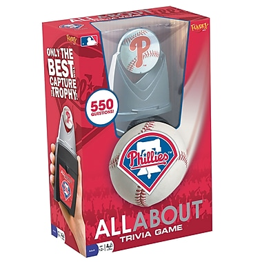 Fundex Games MLB All About Baseball Trivia Game; Philadelphia Phillies