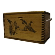 Evans Sports Standard Accessory Box With Rope Handles With Duck Print