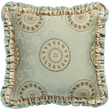 Jennifer Taylor Fortune Printed Synthetic Square Pillow